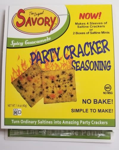 Savory Fine Foods Spicy Guacamole Party Cracker Seasoning Mix by Savory