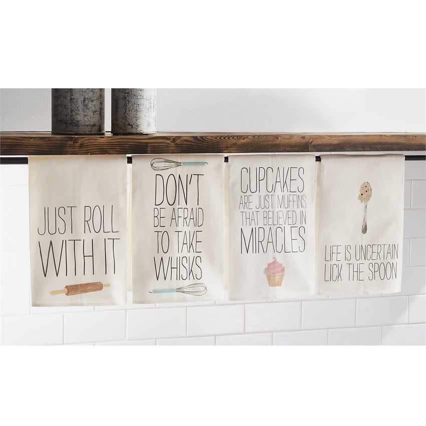 Mudpie JUST ROLL FUNNY COOKING TOWEL