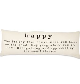 Mudpie HAPPY DEFINITION PILLOW