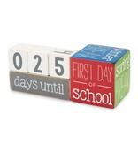 Mudpie TEACHER BREAK COUNTDOWN BLOCKS *last chance