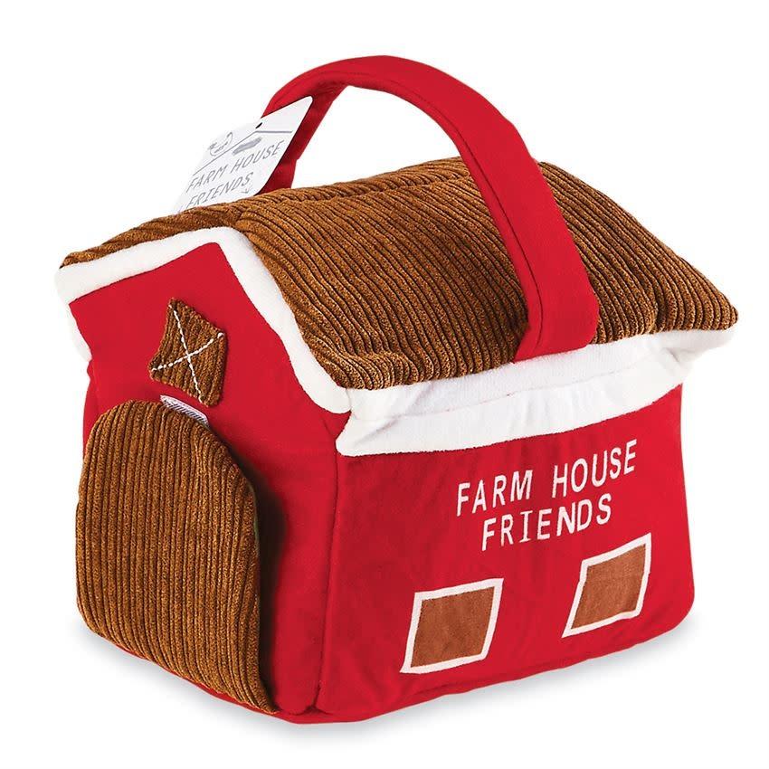 Mudpie FARM HOUSE PLUSH SET