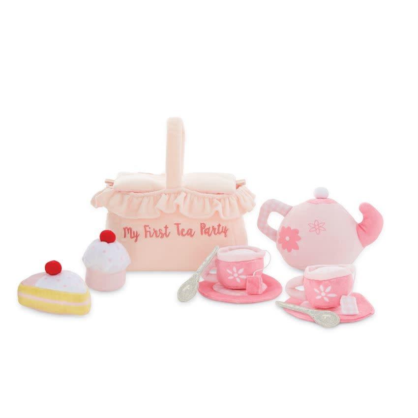 Mudpie MY FIRST TEA PARTY PLUSH SET