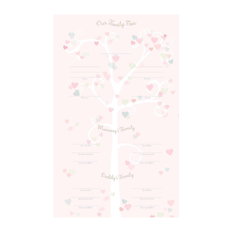 Fleurish Home Little Love First Year Keepsake Calendar