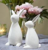Fleurish Home Lg Modern Bunny Statuette