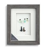 Sharon Nowlan Whiskers on Kittens Pebble Art  8x10
