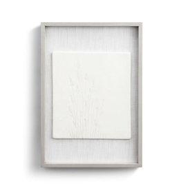 Fleurish Home Gentle Breeze Framed Ceramic Art  11x16