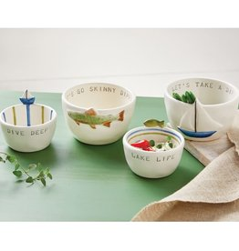 Mudpie SAILBOAT DIP BOWL SET