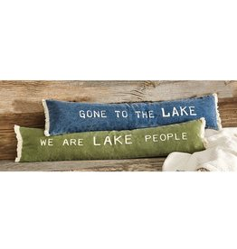Mudpie GREEN LAKE SKINNY PILLOW