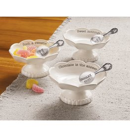 Mudpie SWEET NOTHING CANDY DISH SET