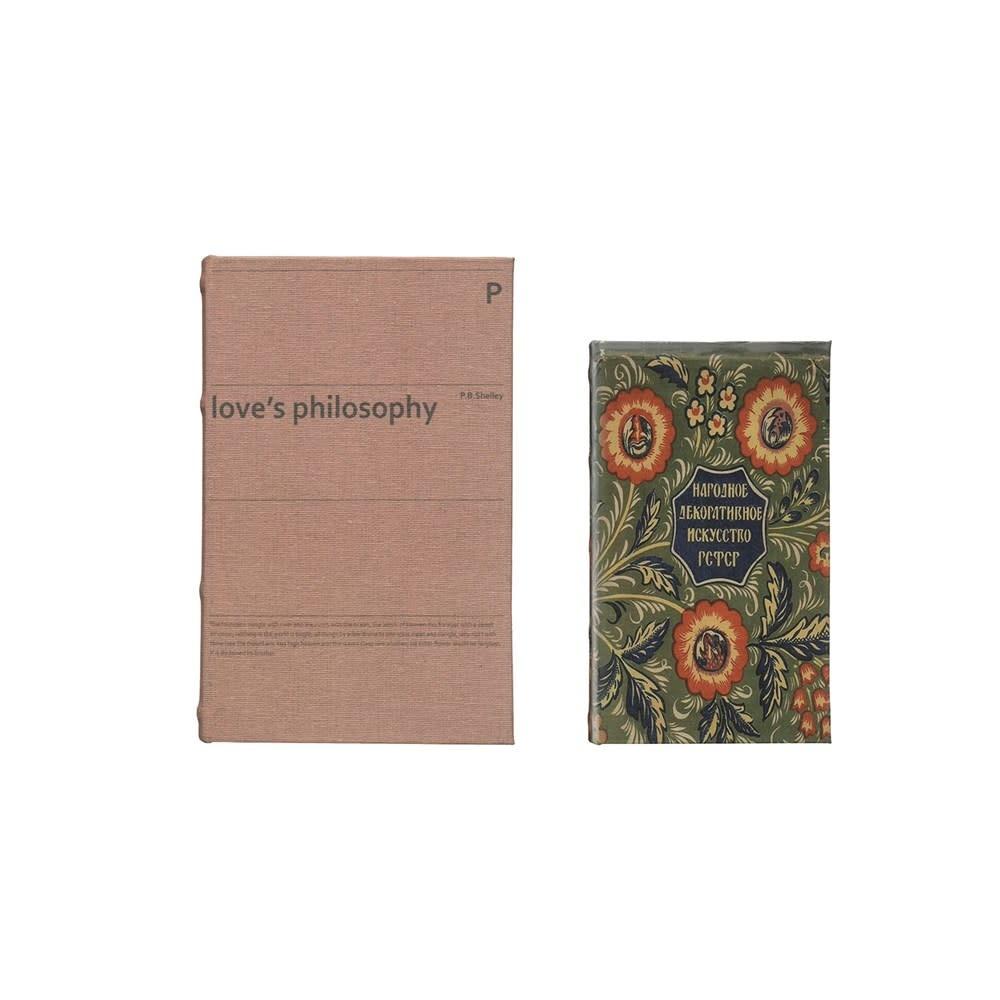 Love's Philosophy Book Storage Box