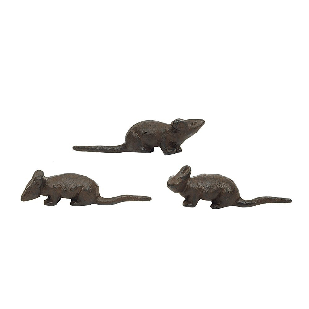 Fleurish Home Cast Iron Mouse (choice of 3 styles)