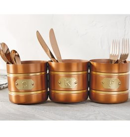 Mudpie COPPER UTENSIL CADDY