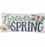 Mudpie SPRING HOOKED WOOL PILLOW *last chance