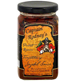 Captain Rodney's Private Reserve Temptation of Jezebel Sauce