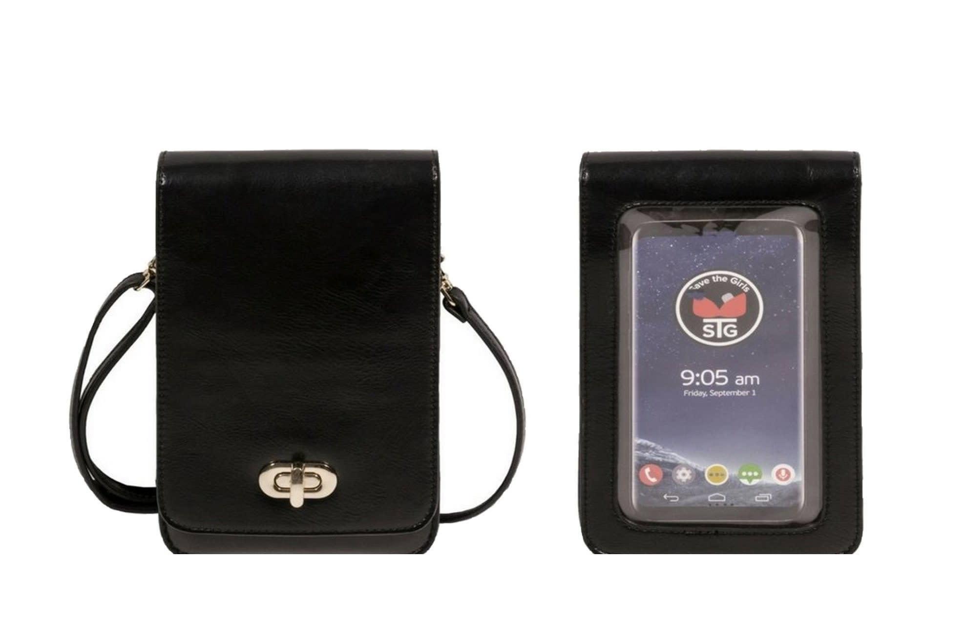 Save the Girls Black Classic Elegance (RFID) Crossbody Bag