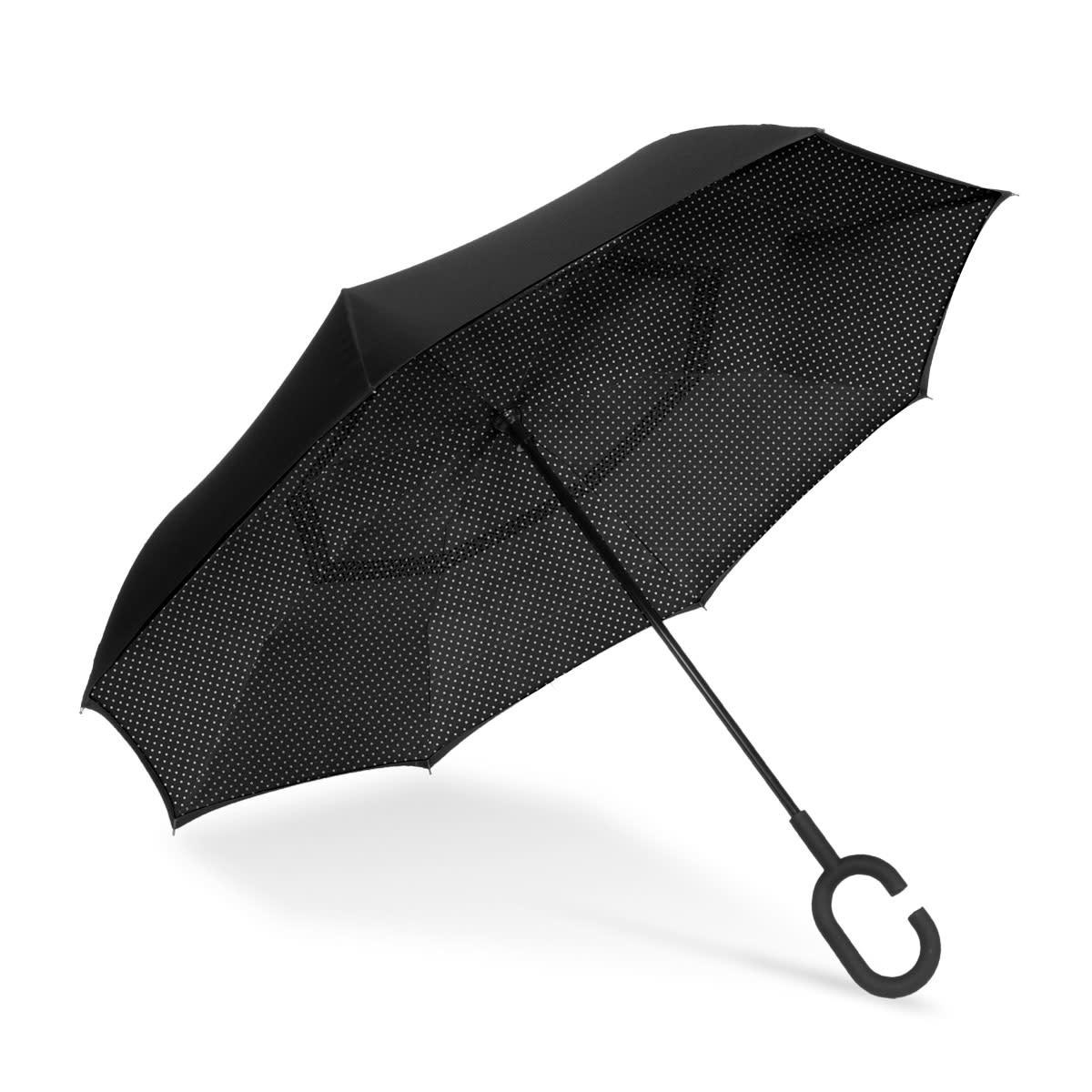 ShedRain Prom Dress UnbelievaBrella Reverse Closing Umbrella