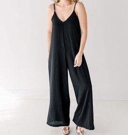 Cobblestone Living Chiara Jumpsuit Black