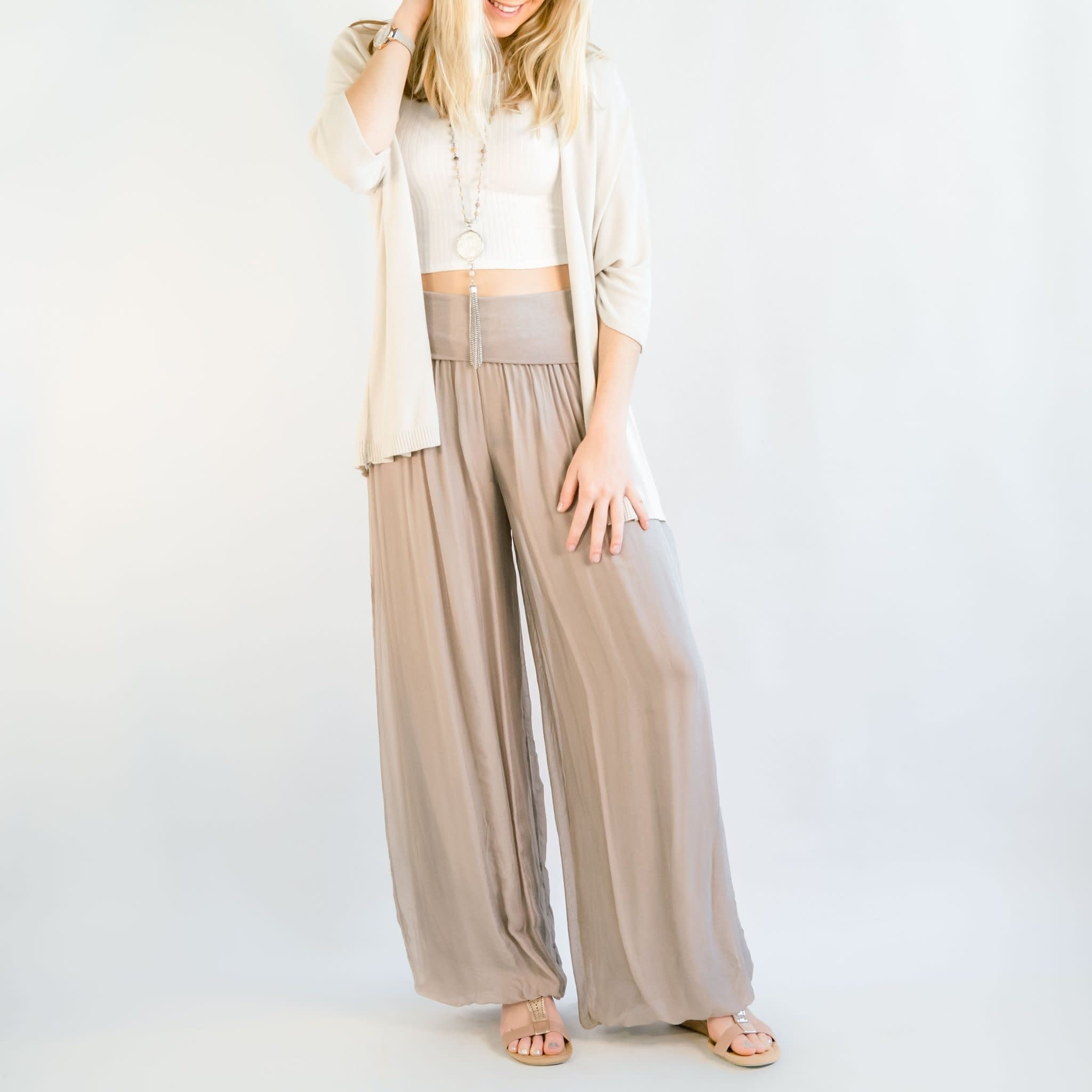 Cobblestone Living Celine Pants Rose