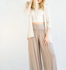Cobblestone Living Celine Pants Taupe