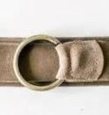 Cobblestone Living Suede Belt