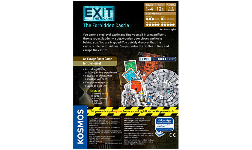 EXIT: The Game EXIT Game: Forbidden Castle