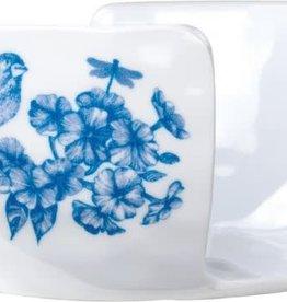 Michel Design Works Indigo Cotton Melamine Serveware Sponge Holder