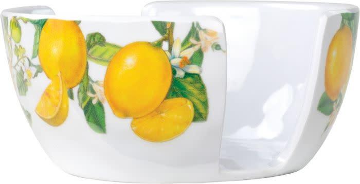Michel Design Works Lemon Basil Melamine Serveware Sponge Holder