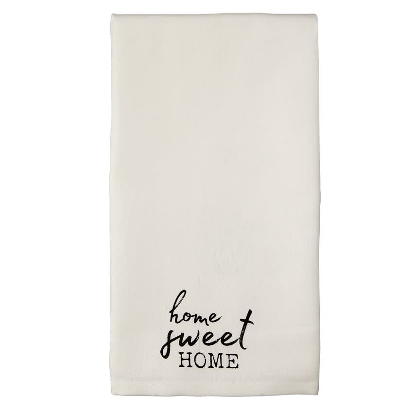 Mudpie HOME SWEET HOME TOWEL *Last Chance