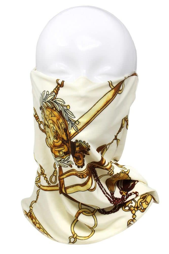 Fleurish Home Chain Print Fashion Tube Mask