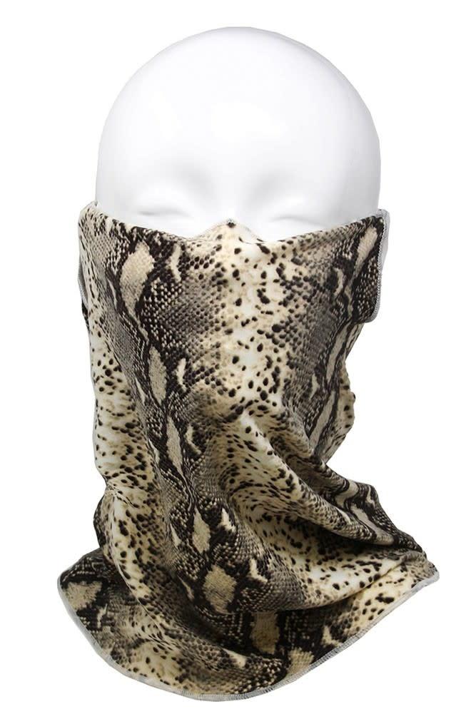 Fleurish Home Snake Print Fashion Tube Mask