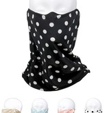 Fleurish Home Polka Dot Print Fashion Tube Mask