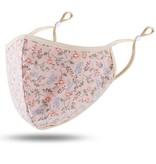 Fleurish Home Pink Floral Fashion Adjustable Mask