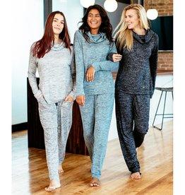 Carefree Threads Melange Jersey Lounge Pants