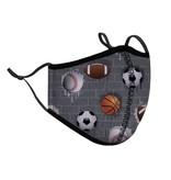 Top Trenz Sports Fashion Mask w Filter Pocket