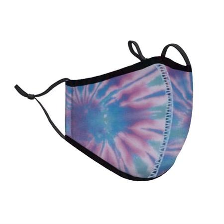 Top Trenz Ice Tie Dye Fashion Mask w Filter Pocket 8+ (Tween/Adult Size)