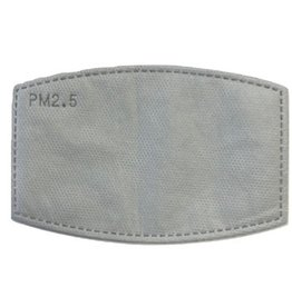 Top Trenz 5-Pack Filters for Fashion Masks w Filter Pockets