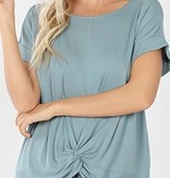 Fleurish Home Knot Front Top*