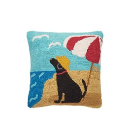 Mudpie BEACH DOG HOOK PILLOW