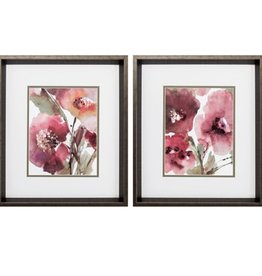 Fleurish Home BLOOMS  (CHOICE OF 2) 17x15