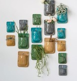Fleurish Home Color Terra-cotta Wall Pocket: Choice of 4 Colors (SM 6x4.25)