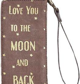 Mona B Moon Card Case (Wanderer Wristlet)