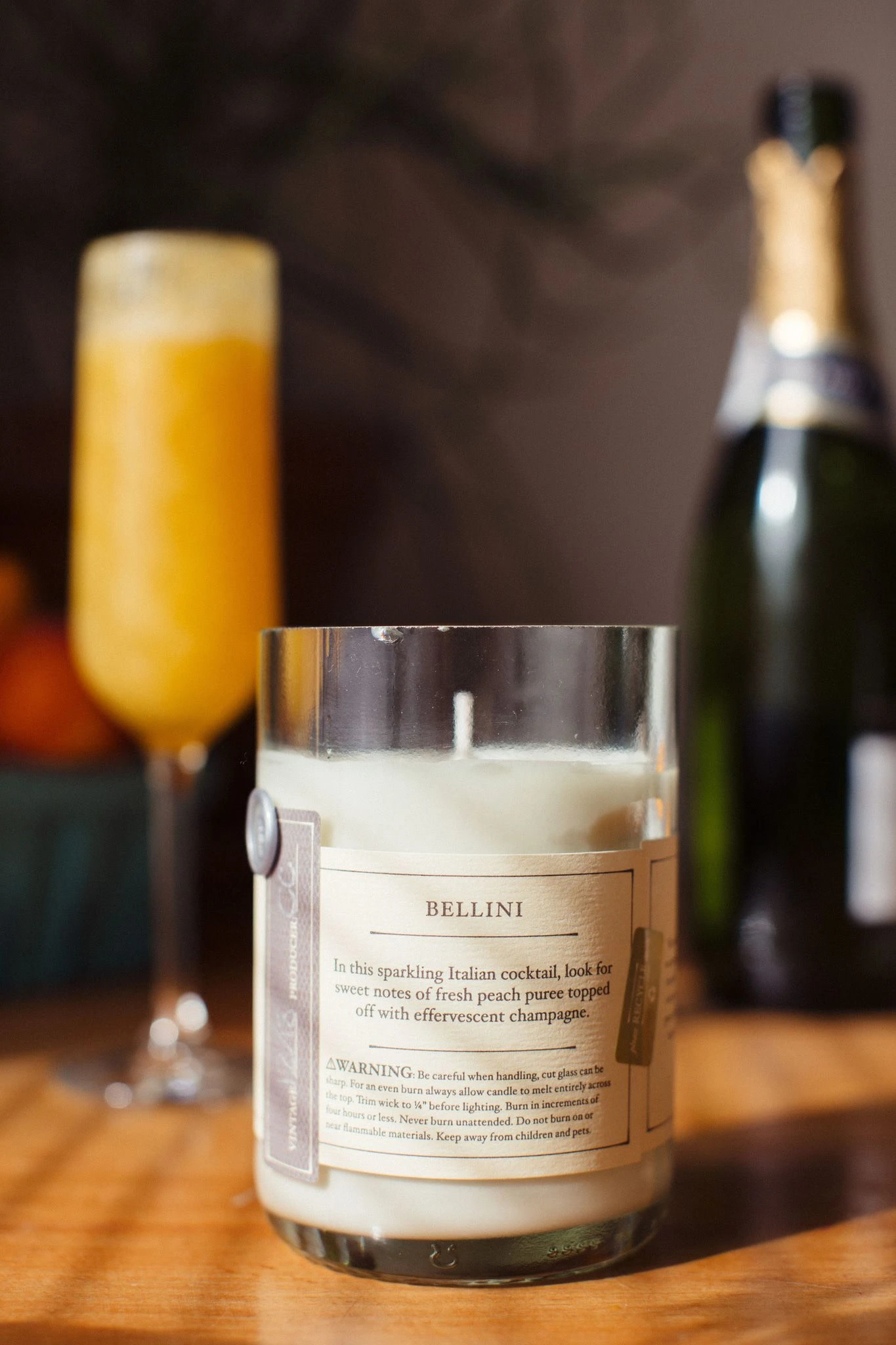 Rewined Rewined Candle Bellini