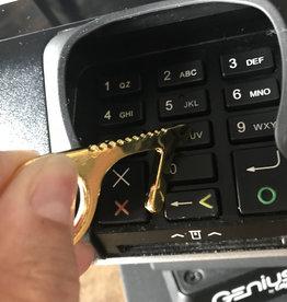 Fleurish Home Brass Keychain Touch Tool