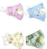 Fleurish Home Kids Fashion Mask with Vent & Filter Pocket (various)