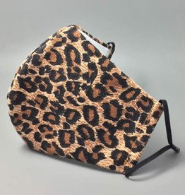 Fleurish Home Leopard Print Fashion Adjustable Mask