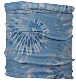 Karma Medium / Half Headband Blue Tie Dye