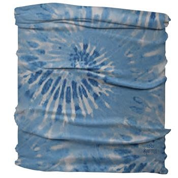 Karma Medium / Half Headband Blue Tie Dye