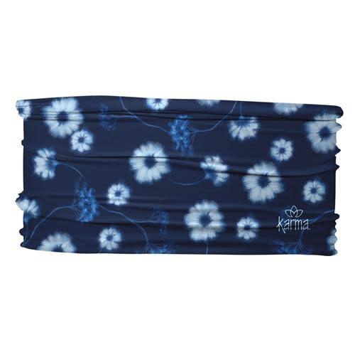 Karma Thin Headbands Blue Daisies