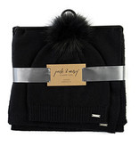 Fleurish Home HAT/SCARF CLASSIC LUXE SET (choice of 4 colors)