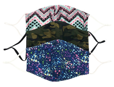 Fleurish Home CARE COVER FACE MASKS (choice of 12 designs)